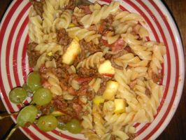 pasta with appel and drews... by daylover1313