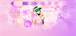 Ashley Benson Free Header PSD by Lucas-Editions