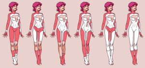 Tina costume concepts by Wunderchivo 1/2 by almond077