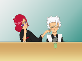 Hitsugaya is doing it wrong... by SillyWQ