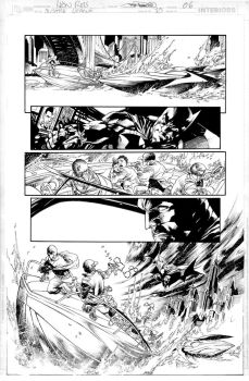 JUSTICE LEAGUE Issue 15 Page#06 by JoePrado2010