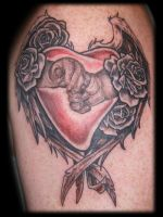 Baby Hands in Winged Heart by Omedon