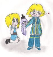 Boomer and Bubbles by jazzy1lol