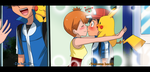 for  pokeshipping fans by hikariangelove