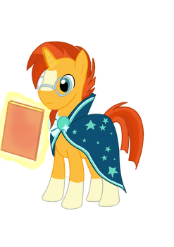 Sunburst, a bookworm by Paladin0