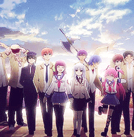 Angel Beats Disappearance GIF by MegaBleachy