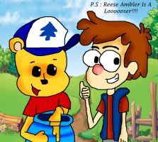 Pooh Adventures Of Gravity Falls (Suck That Reese) by Rise-Of-Majora