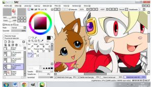 .:WIP:. Manchas and Me by TheDarkShadow123