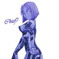 Cortana by Samus-Aran