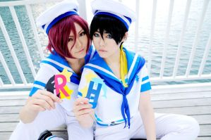 Free! Rin and Haru by Asuka10
