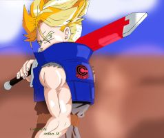 SSJ Future Trunks by Ardhes18