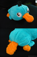 Perry Plushie by naox