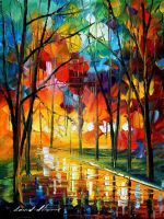 Kaleidoscope of love by Leonid Afremov by Leonidafremov