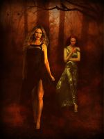 True Blood - The Vamps of Autumn (Pam and Jessica) by riogirl9909