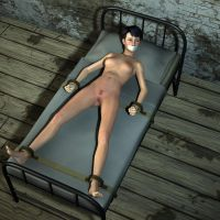 New devices - Restraining bed 2 (naked version) by hookywooky