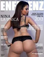 nina is onthe cover of Enfluenz by djwarchild76