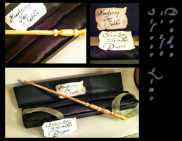 Pottermore Silver Lime Wand by 4cquiesce