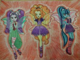 The Sirens by KittyDazzling