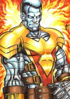 PHOENIX 5 COLOSSUS PERSONAL SKETCH CARD by AHochrein2010