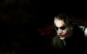 Joker Heath Ledger Background by GustavosDesign