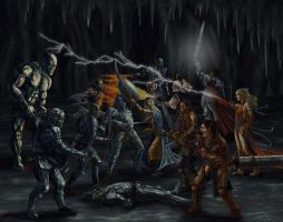 Subterranean Melee by Jeff-Strand