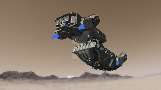 SCV-Caisson Medium bulk freighter by Stingra