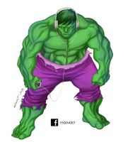 Hulk innerchild by mdavidct