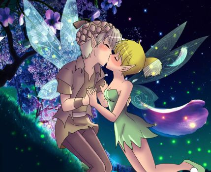 Terrence and Tinkerbell by AngelofHapiness