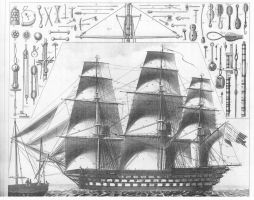 ship etching by GeneralVyse