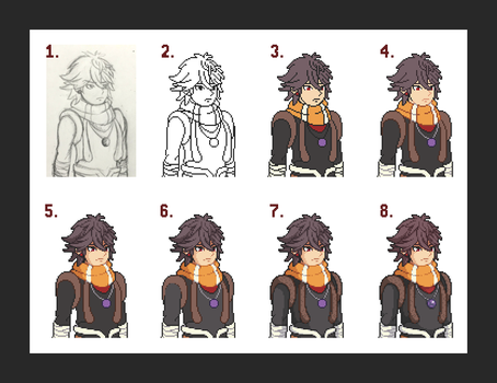 1-5, Step-by-Step by Amysaurus121