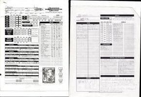 Chainer Character Sheet by Bahamut20