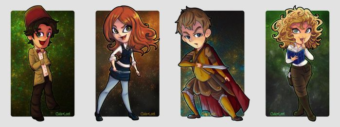 Doctor Who - Come Along, Pond! by cute-loot