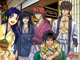 The Kenshin Group by Rekkiem