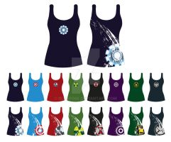 T-shirts Avengers by OlcaPoul by OlcaPoul