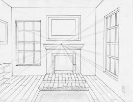 One-point perspective by midni6htf4iry