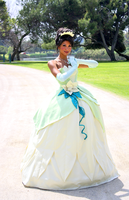 Princess Tiana by luckinspades