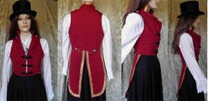 Victorian-Steampunk inspired tailcoat PCT2-3 by JanuaryGuest