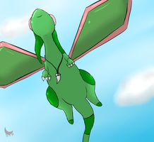 -Gift- Glider in the sky by Sombrasaurus