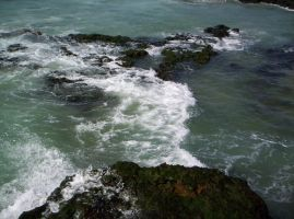 The sea in Portugal by LadyMigui-stock