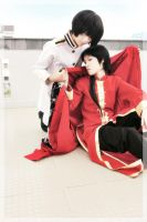 APH cosplay_ Japan x China by urhi