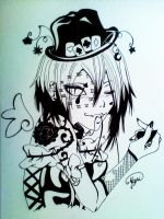 .mad hatter. by namigoth