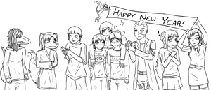 Happy New Year! by eternityOnlooker