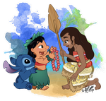 Welcome to the Ohana, Moana by PhantomPhoenix4
