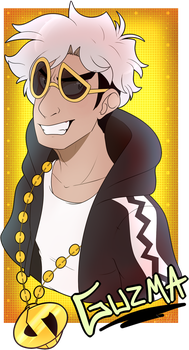 .:FAN:. BIG BAD GUZMA by TrollScribbles
