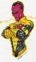 Sinestro :yellow: fear by ChrisOzFulton