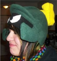 Marvin the Martian Hat by DinosaursGoRawr1