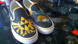 Legend of Zelda Custom Twilight Princess Shoes Set by GrimmShoes