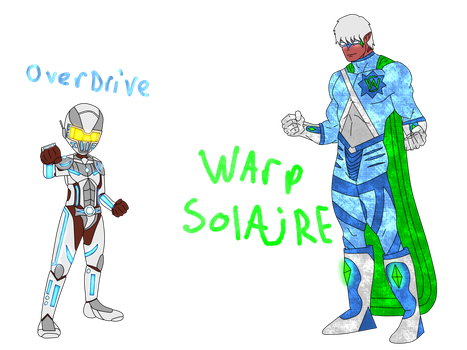 Overdrive and Warp Solaire Concepts by HeadHunterXZI