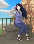 Shippuden Hinata by paintpixel