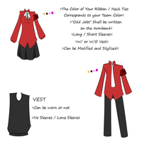 Le Final Uniform for OddJobs by Blackcaress